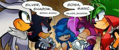I feel like Silver and manic would be partners in crime XD Sonic The Hedgehog, Silver The Hedgehog, Shadow The Hedgehog, Sonic Underground, Cuphead Game, Sonic Funny, Game Sonic, Rouge The Bat, Sonic Heroes