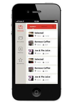 App navigation WIP w. icons Mobile UI Design Inspiration