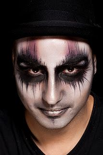 DIY Halloween Makeup for Men #halloweentip | Halloween | Pinterest ...