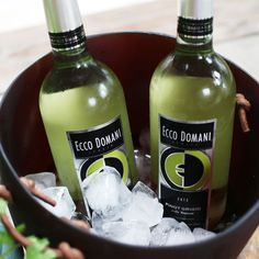 There's nothing like a chilled glass of #EccoDomani #PinotGrigio at the end of your day! Who's having us over?
