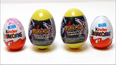Special Pokemon - Diamond & Pearl Super Surprise Eggs + Kinder Surprise ...