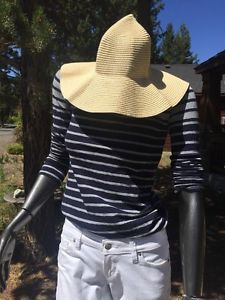 Women's Pack Able Paper Natural Sun Hat Lid's Free SHIP | eBay