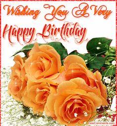 Wishing you a very Happy Birthday! birthday happy birthday graphic birthday greeting birthday wishes animated birthday birthday flowers Birthday Wishes For Aunt, Happy Birthday Messages, Very Happy Birthday, Happy Birthday Quotes, Happy Birthday Images, Birthday Greetings, Happy Birthday Aunt From Niece, Happy Brithday, Aunt Birthday