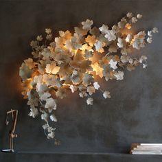 An interesting wall light