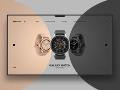 Samsung Galaxy Watch by Maxim Nilov