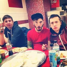 Mark, Tyler, and Josh