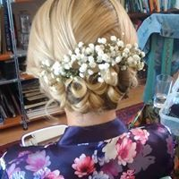 babys breath make the perfect finishing touch for bridesmaids hair. created by flowers & fringes Hair And Makeup Artist, Hair Makeup, Bridesmaid Hair, Bridesmaids, Gypsophila, Fringes, Wedding Makeup, Hairdresser, Babys