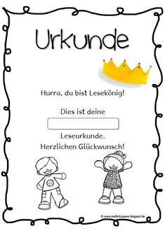 lesepass leseurkunde endlich pause lesen deutsch klasse 2 lesen schulideen und urkunde. Black Bedroom Furniture Sets. Home Design Ideas