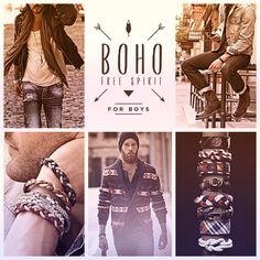 Nosso radar detectou que o OUTONO/INVERNO15 será cheiinho de pulseiras principalmente em couro, botas/coturno, cachecóis, toucas,óculos retro e chapéus panamá. Embarque com a gente e inspire-se. E corra para a For Boys conferir nossa coleção nova.#VemInverno #BohoForBoys #Trendy #Style #Fashion #Moda