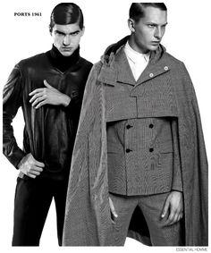Dmitry Brylev + Branden Kennedy Roca las colecciones de otoño imagen Homme Essential Homme esencial para el otoño 2014 Colecciones 002
