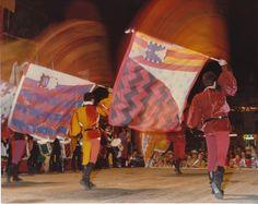 """Tit. orig.: """"Arcobaleno di colori"""" Un momento del corteo della Torta dei Fieschi. Il 14 agosto di ogni anno la città di Lavagna dà vita alla rievocazione storica del matrimonio del Conte Opizzo Fieschi (1230). On 14th August, the town of Lavagna commemorates the event of the """"Torta dei Fieschi"""" (the Fieschi's cake), where Count Opizzo Fieschi, in the 1230, invited everyone in town to share a slice of his wedding cake. (Photo: Stefano Appoggi) #Lavagna #Liguria #TortadeiFieschi"""