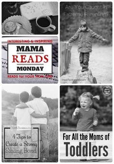 Mama Reads Monday - Extreme Parenting, Siblings, and MORE! - Encouraging Reads for Busy Moms at B-Inspired Mama