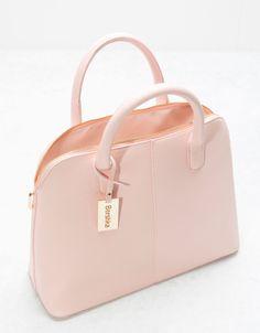 56a91e6f547 Bolso lady saffiano - Bolsos - Bershka Colombia Purses And Handbags,  Fashion Handbags, Leather