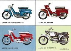 Old Motorcycles, 50cc, Sidecar, Car Manufacturers, Illustrations And Posters, Tricycle, Custom Bikes, Vespa, Motorbikes