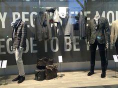 NEWS Schaufenster Gränicher Urban Fashion Luzern. Herrenmode vom Besten. Retail Space, Lucerne, Man Fashion, Store Windows, Men And Women