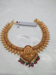 How To Clean Gold Jewelry With Vinegar Gold Earrings Designs, Gold Jewellery Design, Necklace Designs, Antique Jewellery, Gold Jewelry Simple, Ruby Jewelry, Jewellery Earrings, Bridal Jewellery, Necklace Set