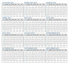 Us Public Holidays Calendar 2019 12 Month Calendar In One Pages