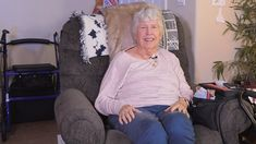 How the Rollator helped Nancy Getman with her mobility and toilet safety needs. Bathroom Safety, Muscular Dystrophies, Portable Toilet, Elderly Care, Alzheimers, Caregiver, Arthritis, Travel, Products