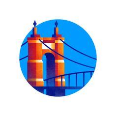 Cincinnati, Usa Today, Badge, Branding, Illustrations, Brand Management, Illustration, Identity Branding, Badges