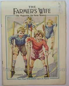 The Farmer's Wife magazine cover, September 1930