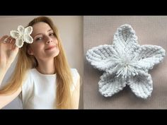 Macrame Tutorial, Flower Tutorial, Diy Jewelry, Weaving, Creations, Crochet Hats, Diy Crafts, Minis, Make It Yourself