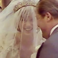 "princess Diana❤❤❤ on Instagram: ""Princess Diana with her father on her wedding day"""