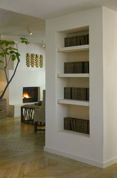 shelves built into wall - Google Search