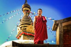 Photo Smiling monk by Edwin Leung on 500px