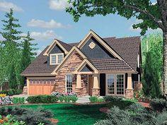 Plan W6950AM: Charming Craftsman Home Plan