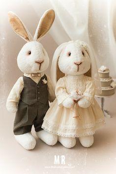 conejos de boda