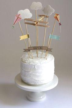 Sky birthday, Micahs next birthday cake, simple and sweet
