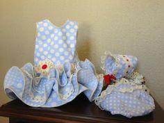 mis dulces nenes: Traje flamenca bebé.