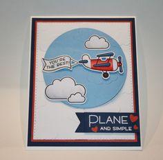 Lawn Fawn Plane & Simple