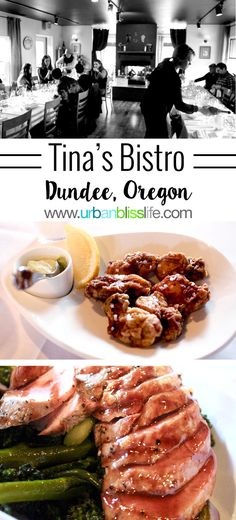 Tina's Restaurant is one of the original fine dining experiences in Oregon Wine Country. Restaurant review on UrbanBlissLife.com