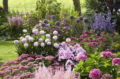 Pflanzen breiten sich rasch im Garten aus und schnell verwandelt sich alles in ein wildes Durcheinander. Um dies zu verhindert empfiehlt es sich, den Garten zu strukturieren und in einzelne Abschnitte zu gliedern.