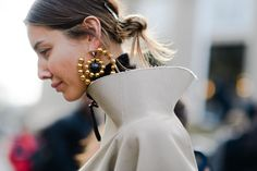 Earrings can take an outfit from basic to fascinating in a second with these bold statements.