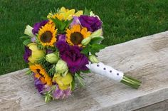 Lavender & Sunflower bouquet