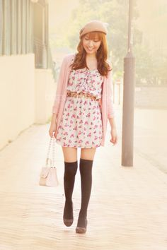 pastel spring outfit #Windowstyle
