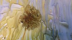 Sunflower watercolor on Yupo paper Watercolor Sunflower, Watercolours, Vegetables, Paper, Painting, Art, Painting Art, Vegetable Recipes, Paintings