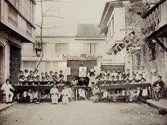 Municipal School of Quiapo, Manila, Philippines, 1887 1 Manila, Class Pictures, Portrait Pictures, Pinoy, Philippines, Book Art, Street View, School, Books
