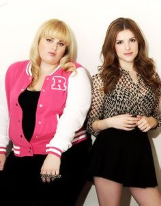 Anna Kendrick and Rebel Wilson... Equally hilarious!