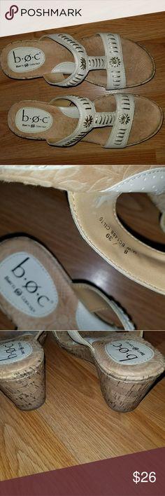 Boc /Born Concepts Off white sandals. Born Concepts Shoes Sandals