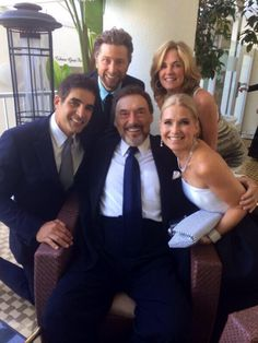 Galen, Kassie DePaiva, Missy Reeves and Joe Mascolo at the Emmys