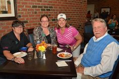 2014 Chamber Challenge  Business After Hours Diana Hall, Lynanne Fowle, Beth Cassels-Anderson, Tommy Broadwell