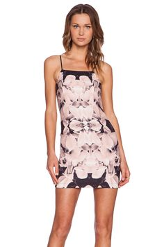 tiger Mist Blush Mini Dress in Peach
