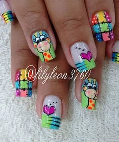 Completo 9000 cambio 6000 Love Nails, Pretty Nails, Ruby Nails, Sugar Skull Nails, Rainbow Nails, Toe Nail Designs, Stylish Nails, Toe Nail Art, Perfect Nails