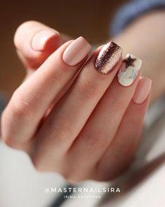 59 Beautiful Nail Art Design To Try This Season - long coffin nails , glitter nails, mixmatched nail art ,nail colors, m. Coffin Nails Glitter, Coffin Nails Long, Cute Acrylic Nails, Nude Nails, My Nails, Semi Permanente, Nagellack Design, Marble Nail Art, Star Nails