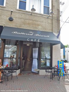 The Buttered Biscuit Bradley Beach NJ - yummy place to eat & so pretty inside!