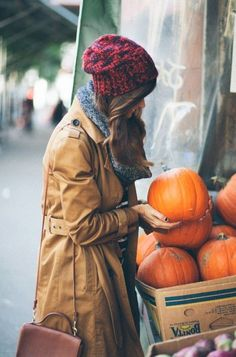 having a serious fall craving this morning. can't wait for those pumpkins and clothes!