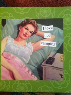 From my Anne Taintor calendar-love her!